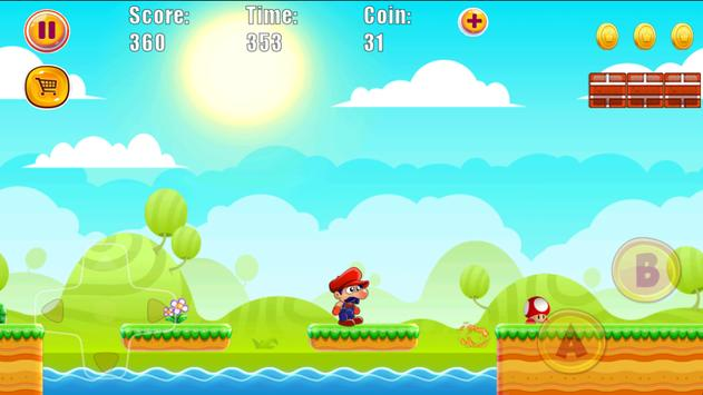Super Jungle World of Bros apk screenshot