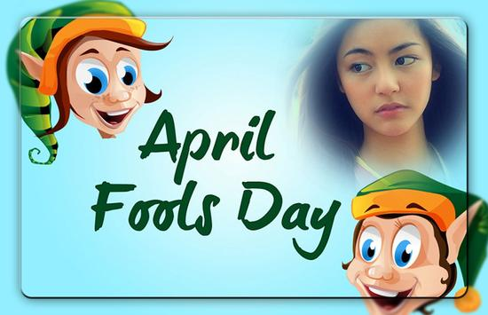 April Fool Day Photo Frames poster