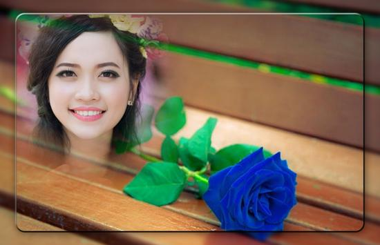 Blue Rose Photo Frames screenshot 2