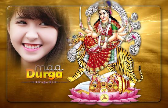 Durga Ashtami Photo Frames poster