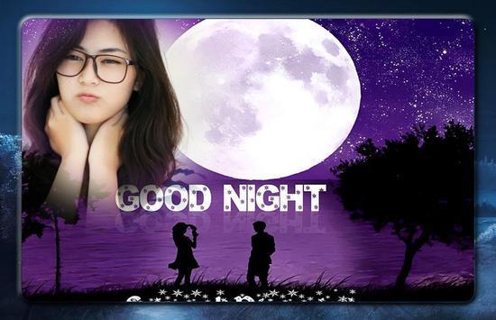Good Night Photo Frames screenshot 3
