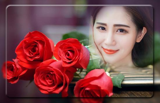 Red Rose Photo Frames screenshot 1