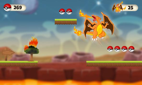 Charizard Dragon Fighter apk screenshot