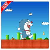 Super doraemon Adventures games free Run icon