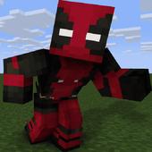 SuperHero MCPE for Minecraft. PvP Skin Studio icon