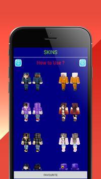 SuperHero MCPE for Minecraft. PvP Skin Studio poster