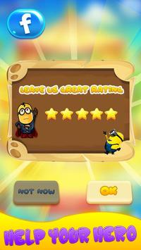 Superhero Despicable Man Flying Banana apk screenshot