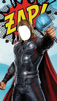 Super Hero Powers Suit poster