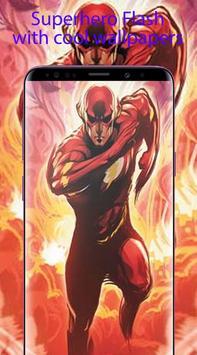 Superheroes Flash Wallpaper HD 4K poster