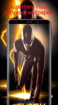 Superheroes Flash Wallpaper HD 4K screenshot 2