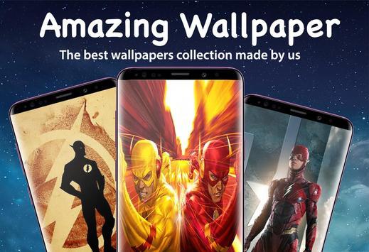 Superheroes Flash Wallpaper HD 4K screenshot 3