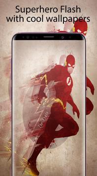 Superheroes Flash Wallpaper HD 4K screenshot 4