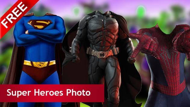 Super Heroes Photo Suit Ideas screenshot 1