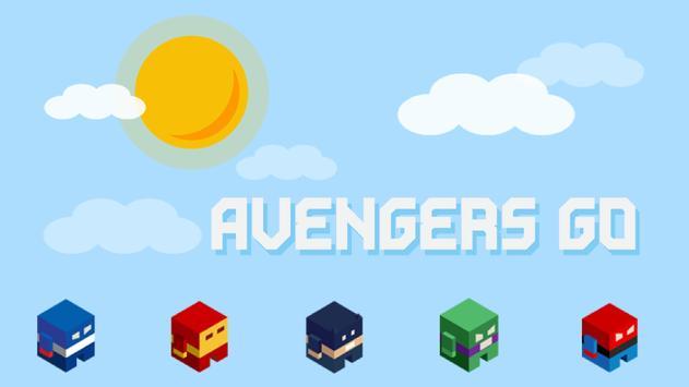 SuperHeroes Avengers Go Jump screenshot 1