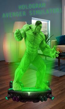 Hologram Avenger Simulator poster