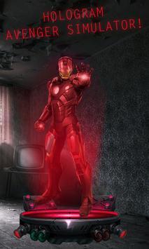 Hologram Avenger Simulator screenshot 2