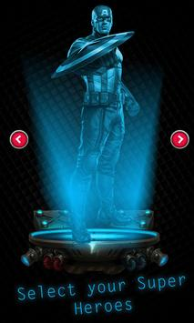 Hologram Avenger Simulator apk screenshot
