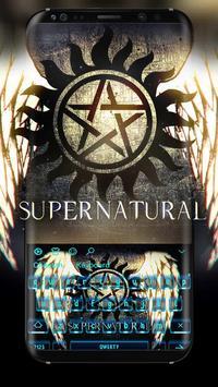 Supernatural Keyboard poster