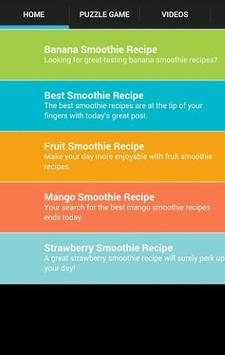 Smoothie Recipe At Home poster