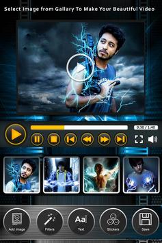 Super Power Photo To Video Maker poster