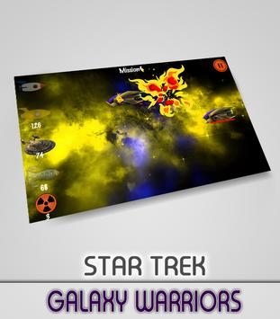 Galaxy warriors of Startrek poster