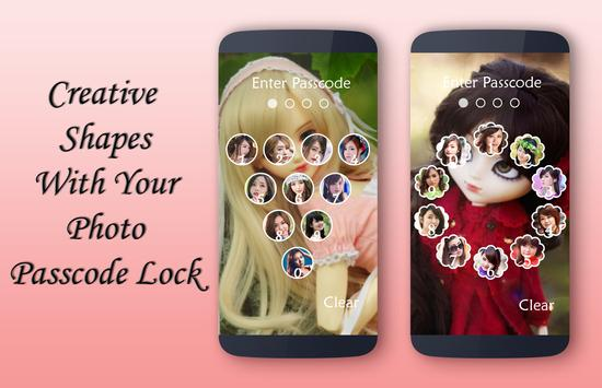 Cute Doll Lock Screen apk screenshot