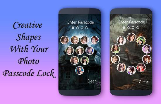 Haunted House Lock Screen apk screenshot