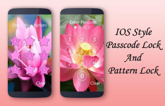 Lotus Lock Screen screenshot 3