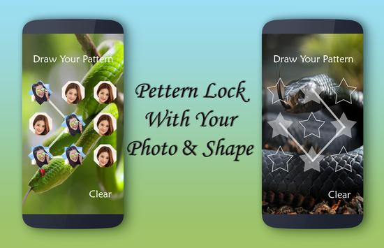 Snake Lock Screen apk screenshot