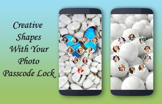 White Lock Screen apk screenshot