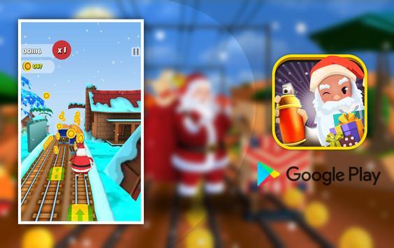 Super subway santa surfer christmas gift collector screenshot 5