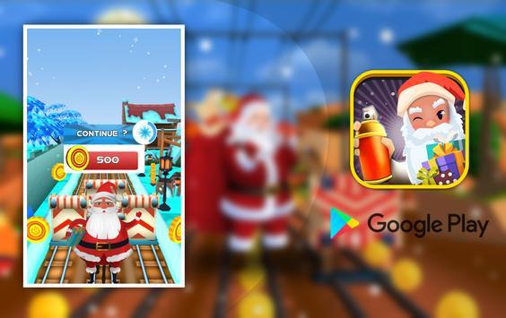 Super subway santa surfer christmas gift collector screenshot 7
