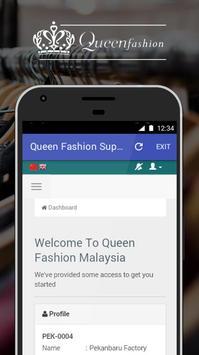 Queen Fashion Supplier poster