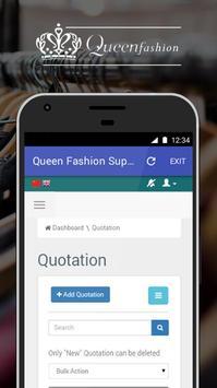 Queen Fashion Supplier apk screenshot