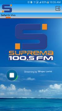 SUPREMA 100.5 FM screenshot 1