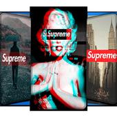 Supreme Wallpapers   HD Lockscreen icon