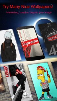 Supreme Wallpapers   HD Lockscreen screenshot 2