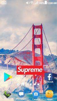 Supreme Wallpapers   HD Lockscreen screenshot 4