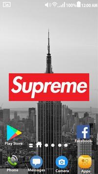 Supreme Wallpapers   HD Lockscreen screenshot 5