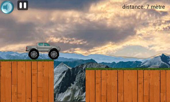 Combler le mur Car Bridge poster