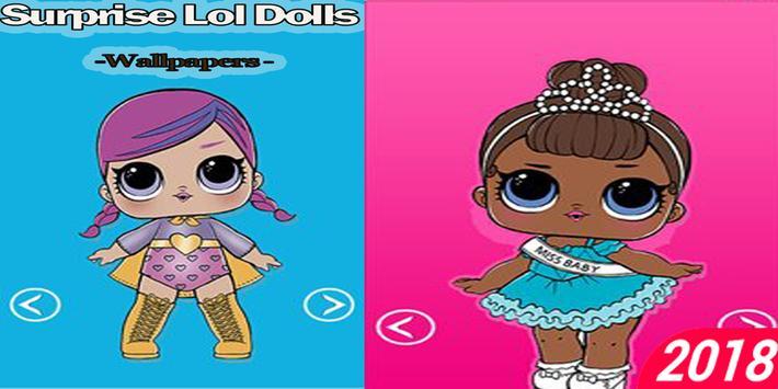 Surprise Lol Dolls Wallpapers Eggs HD screenshot 1