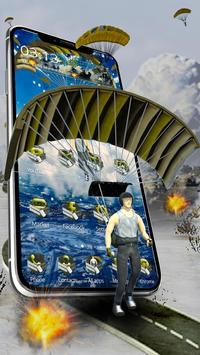 3D survival soldier theme poster
