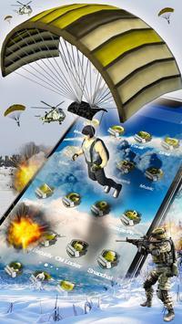 3D survival soldier theme apk screenshot