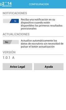 TSE 2ª VUELTA EL SALVADOR 2014 apk screenshot