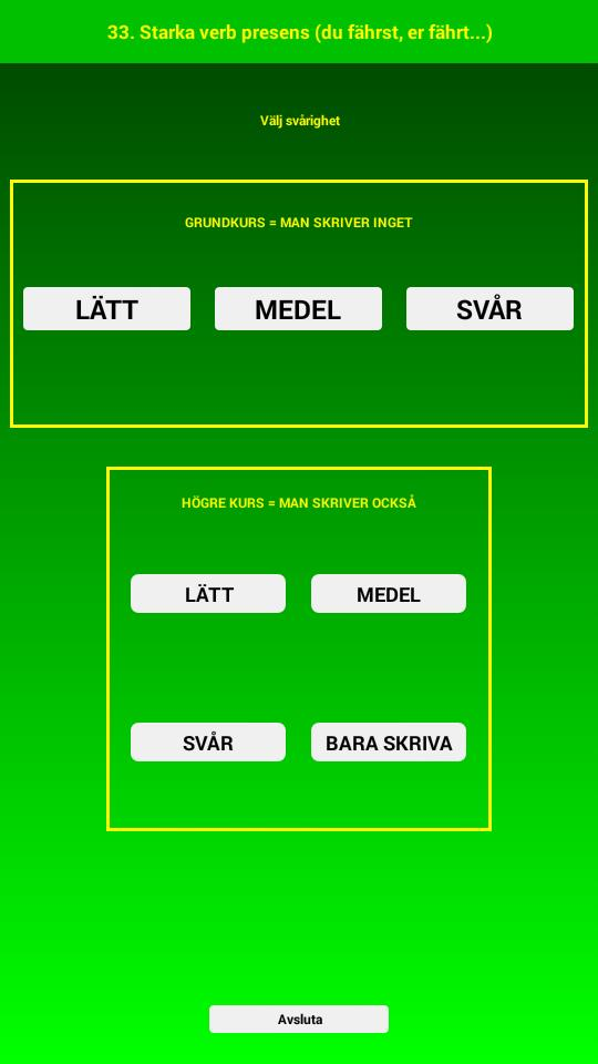 Tysk Grammatik Övningar for Android - APK Download