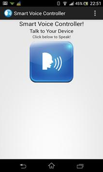 Smart Voice Controller poster
