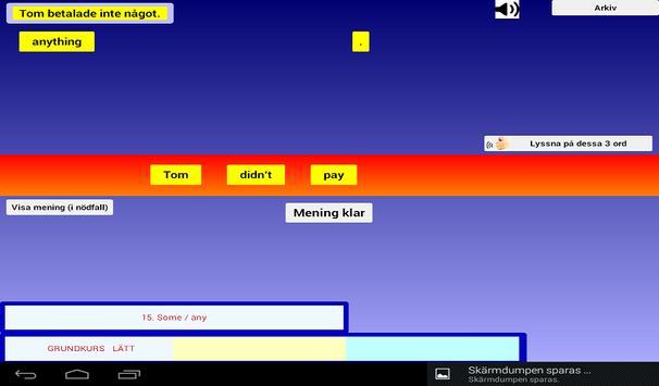 Engelsk Grammatik Övningar screenshot 10