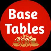 BASE TABLES icon