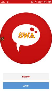 SWAchat Network poster