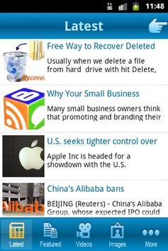 Tech World screenshot 1